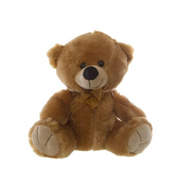 Alvin 25cm Teddy Flowers with Style