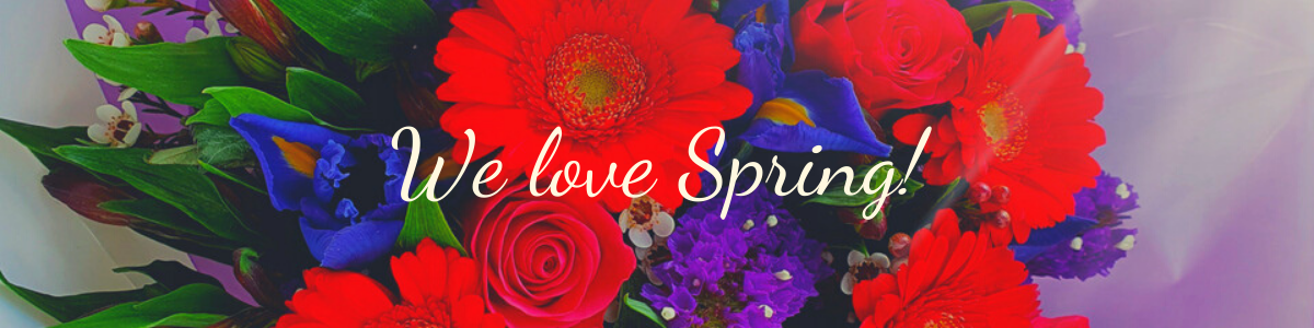 We love Spring! Flowers with Style